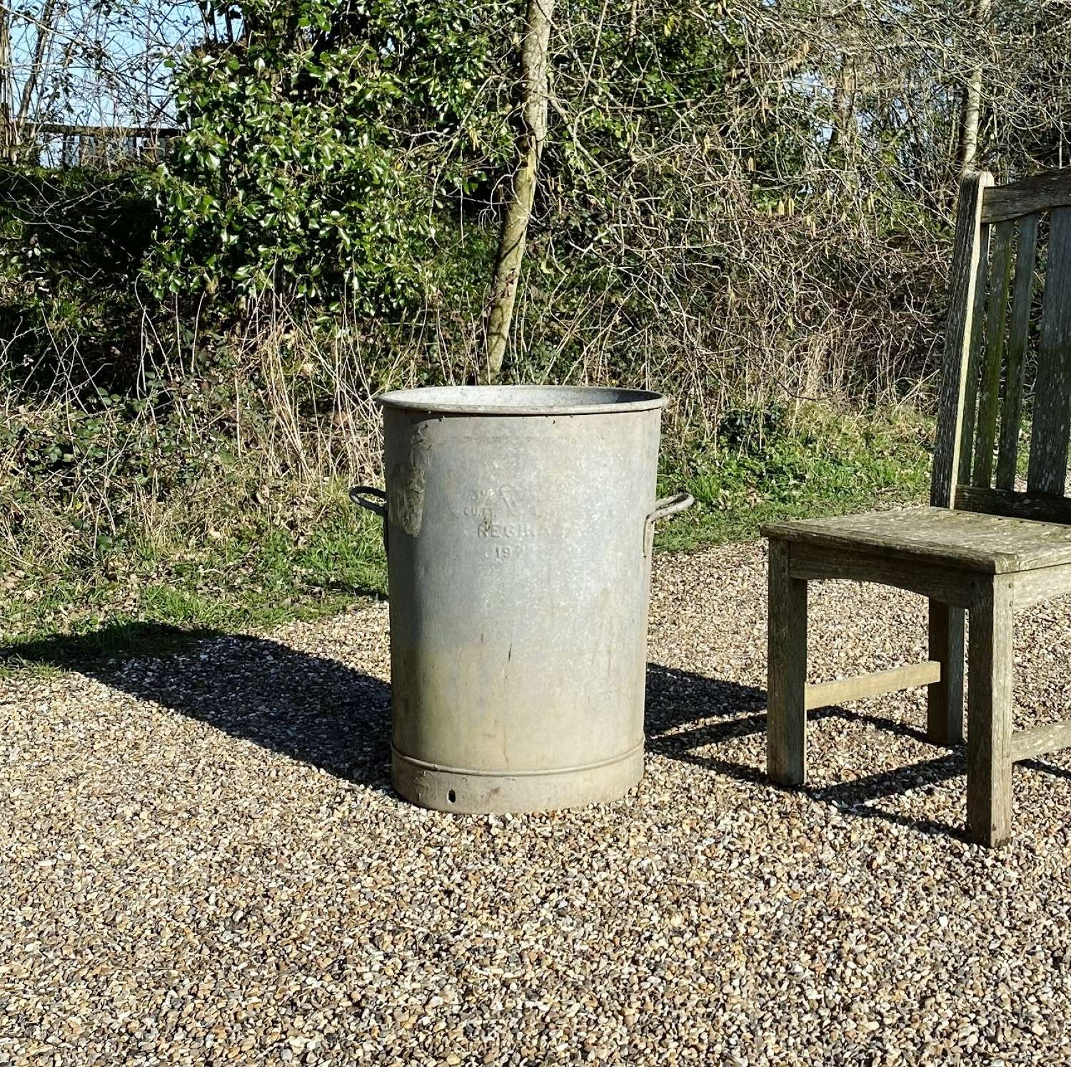 Galvanised Planter or Water Butt