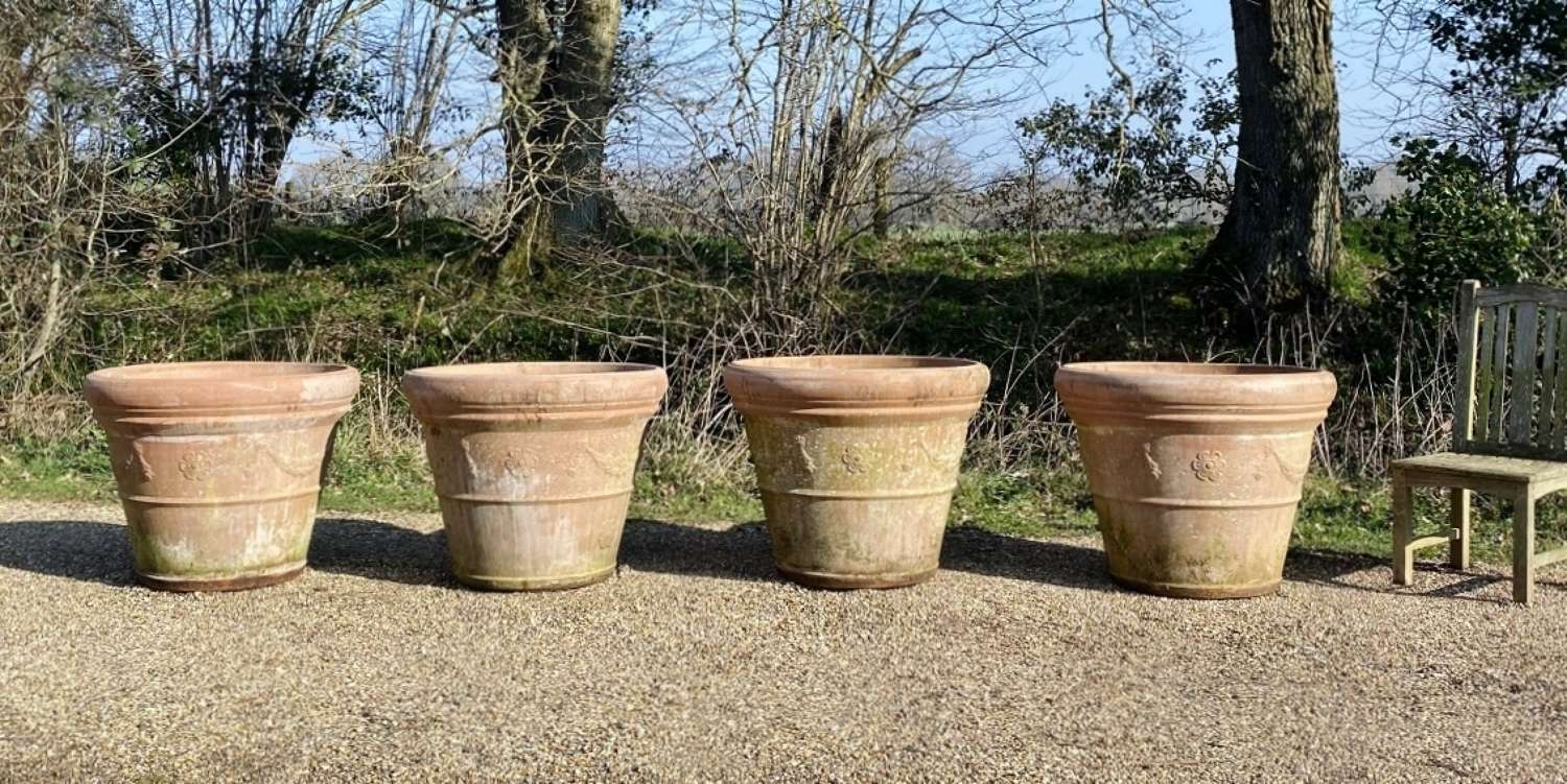 Very Large Terracotta Planters