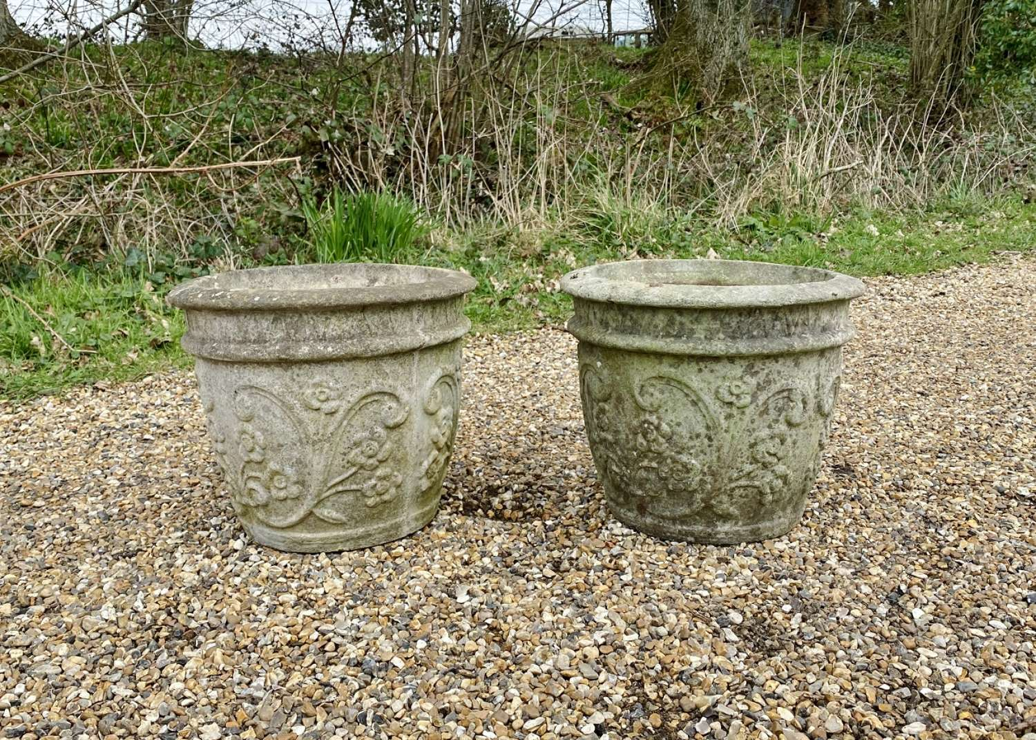 Pair of Flower Planters