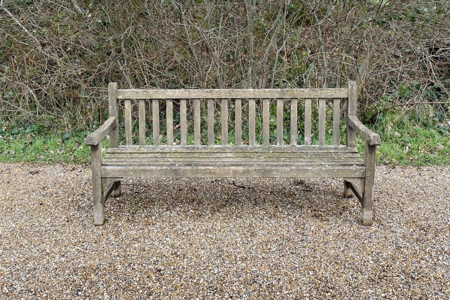 Weathered Lister Bench