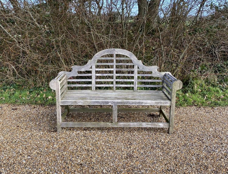 Weathered Lutyen Bench
