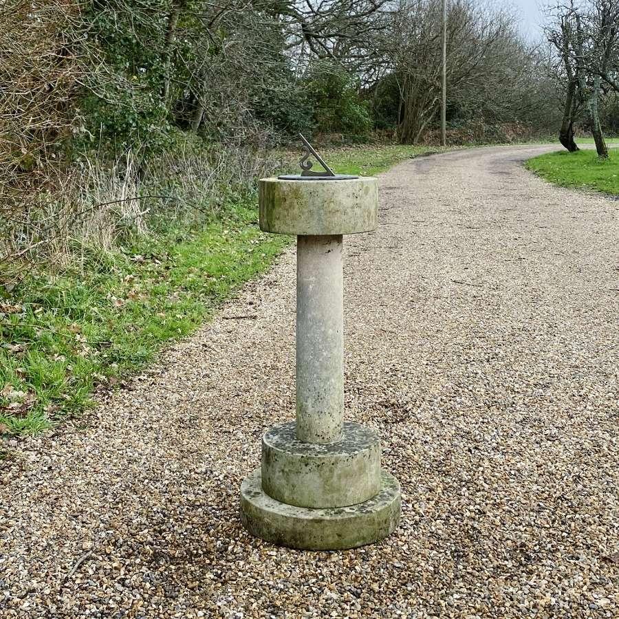 Portland Stone Sundial