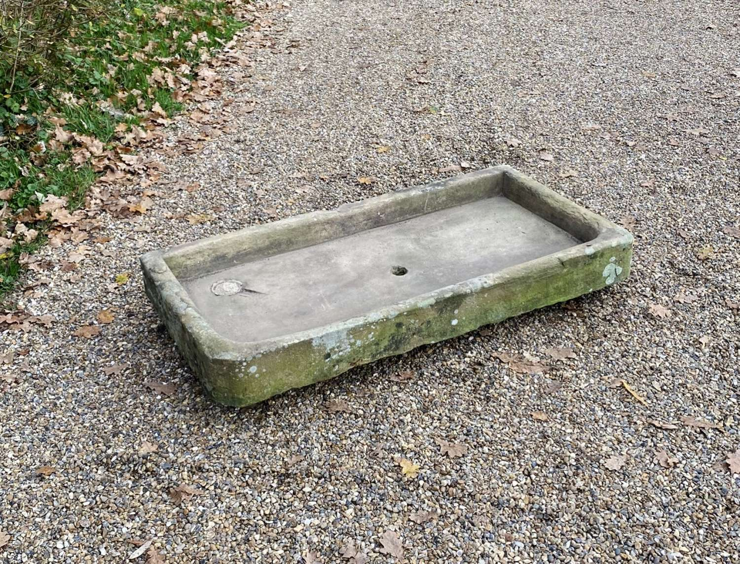 Large Carved Stone Sink