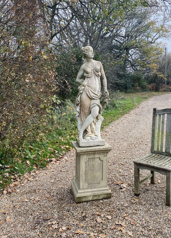 Maiden with Pedestal