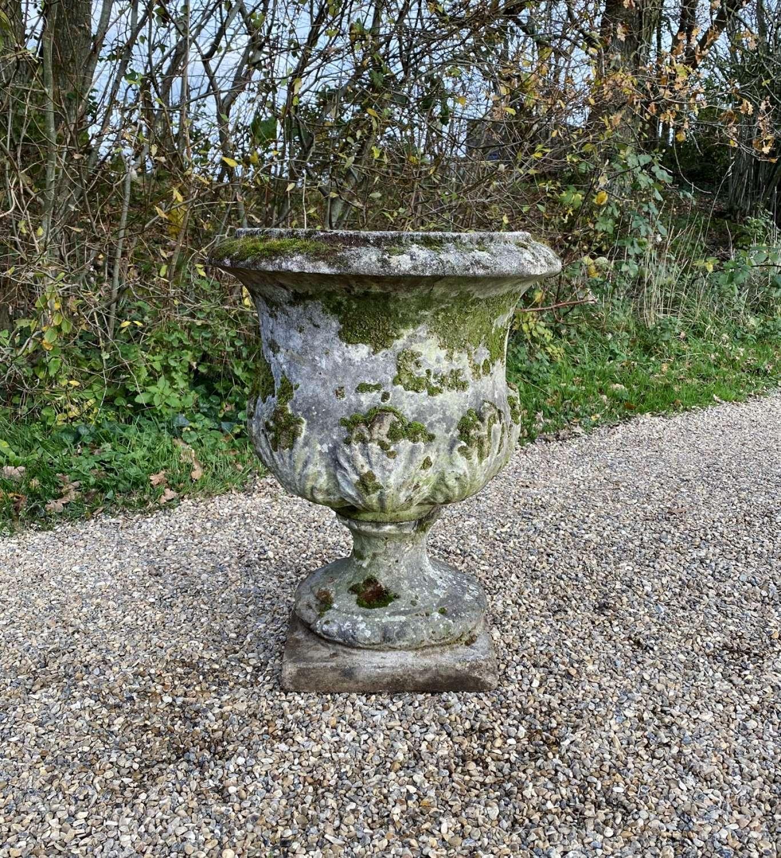 Old Mossy Urn