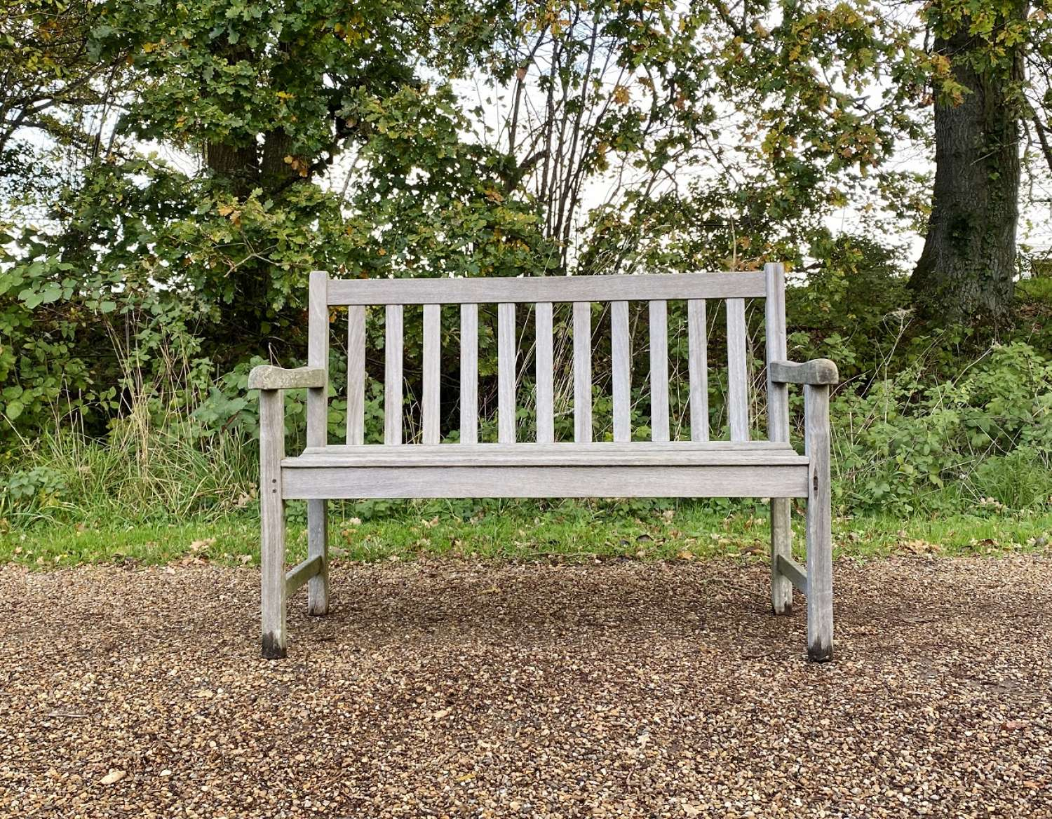 Small Traditional Bench
