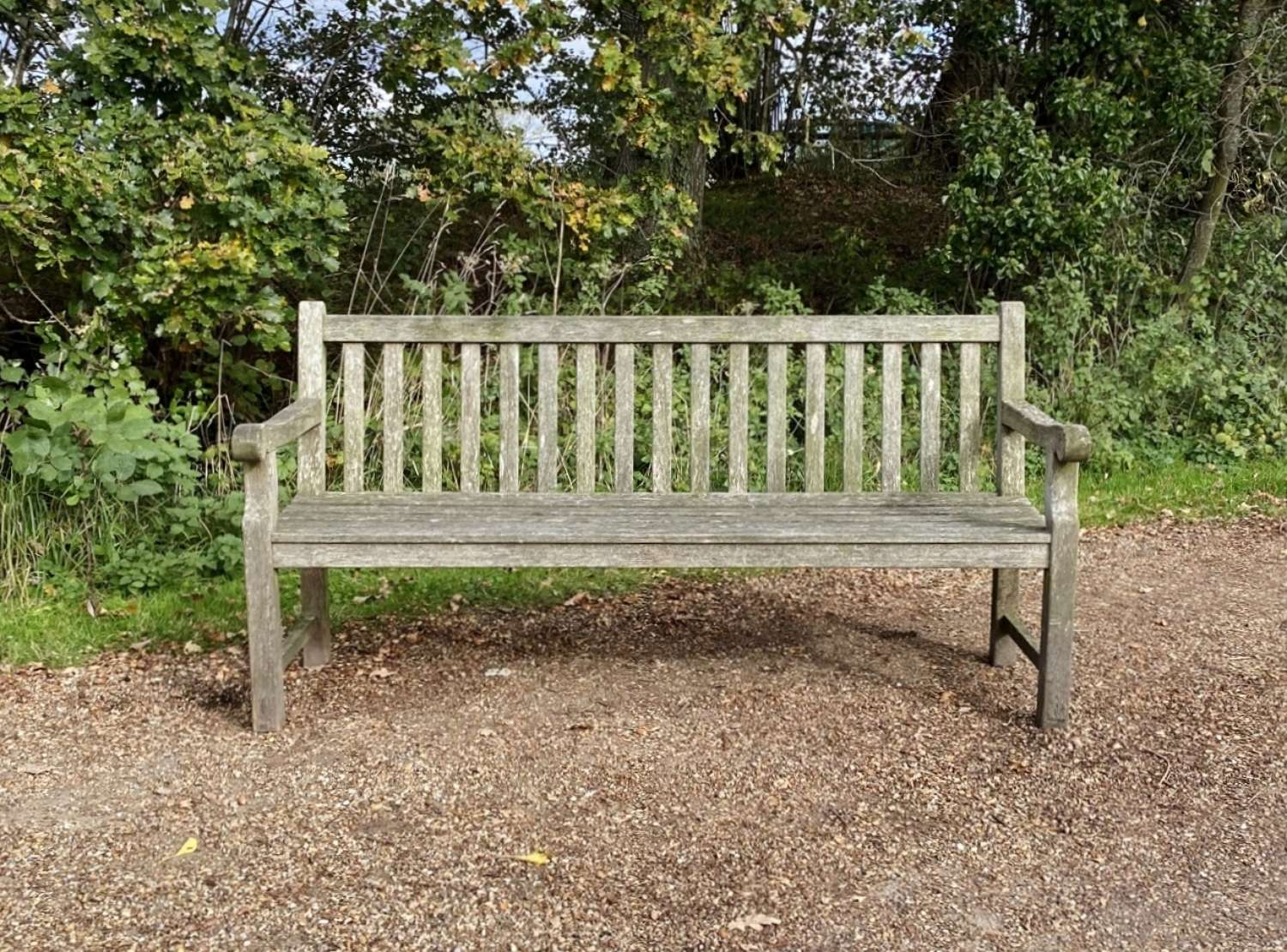 Traditional Weathered Bench