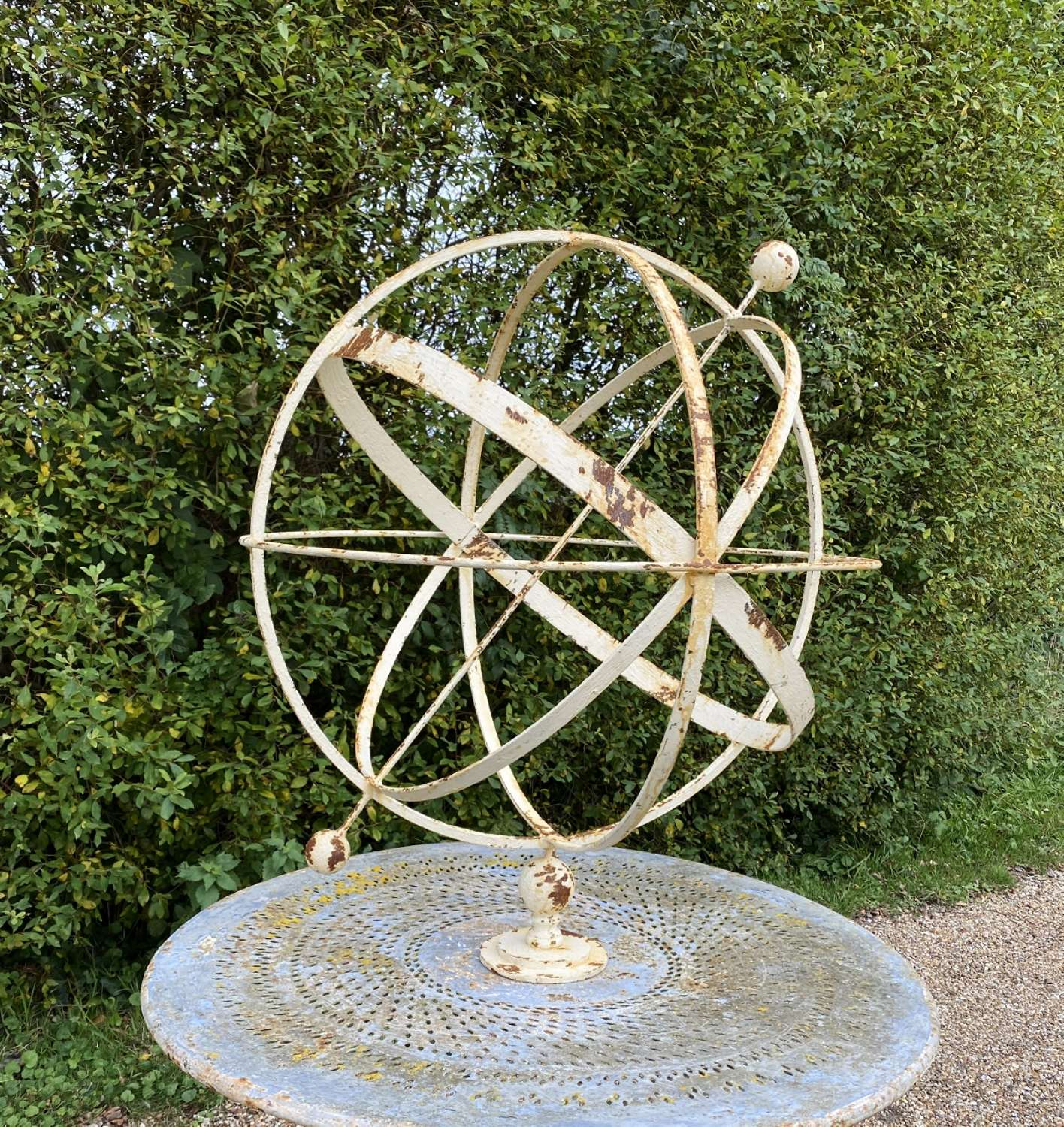Large Decorative Armillary Sphere