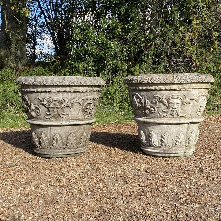 Pair f Decorative Planters