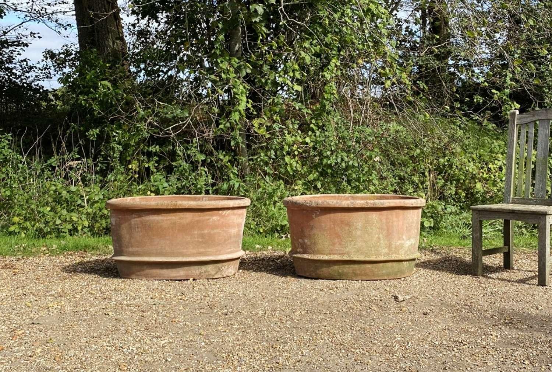Pair of Italian Oval Planters