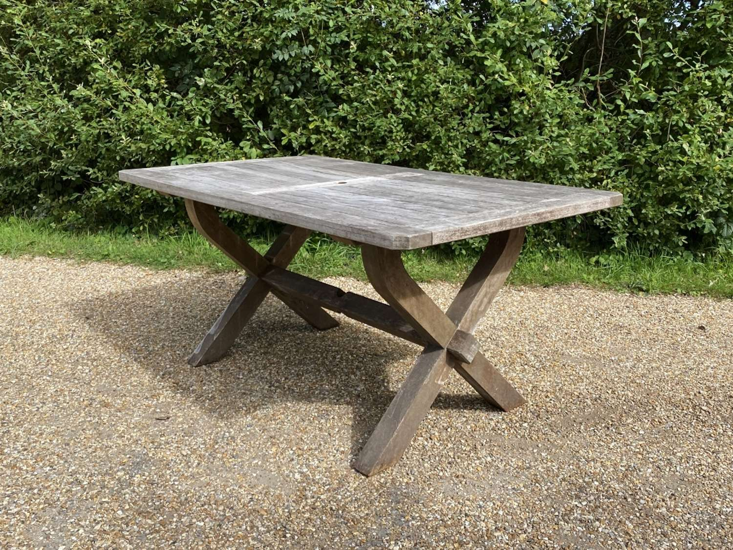 Weathered Table for 6 Chairs