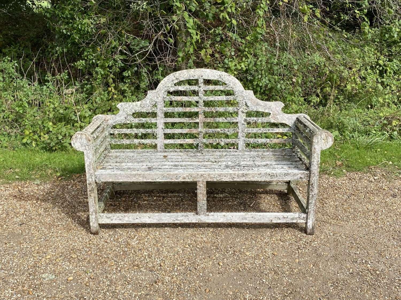 Lichen Lutyen Bench