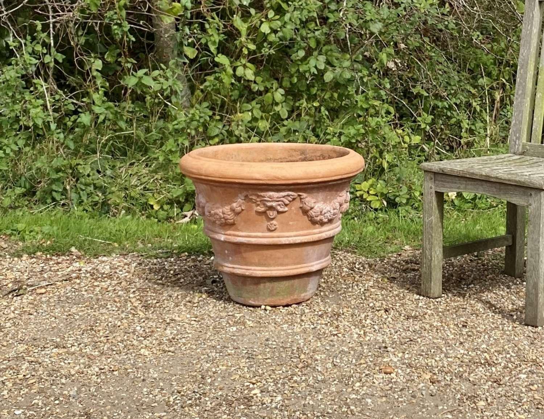 Terracotta Garland Planter