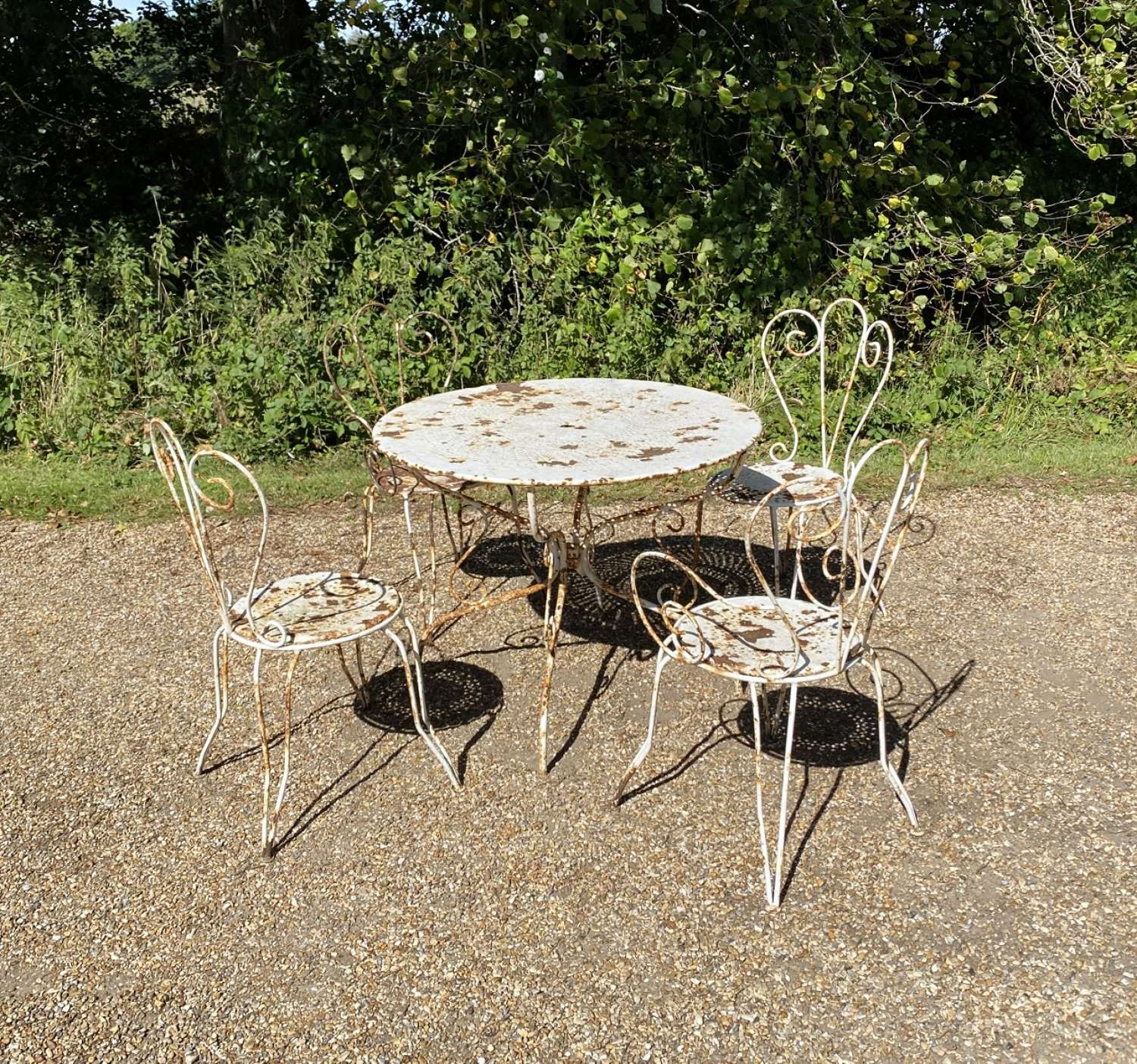 Patinated French Set