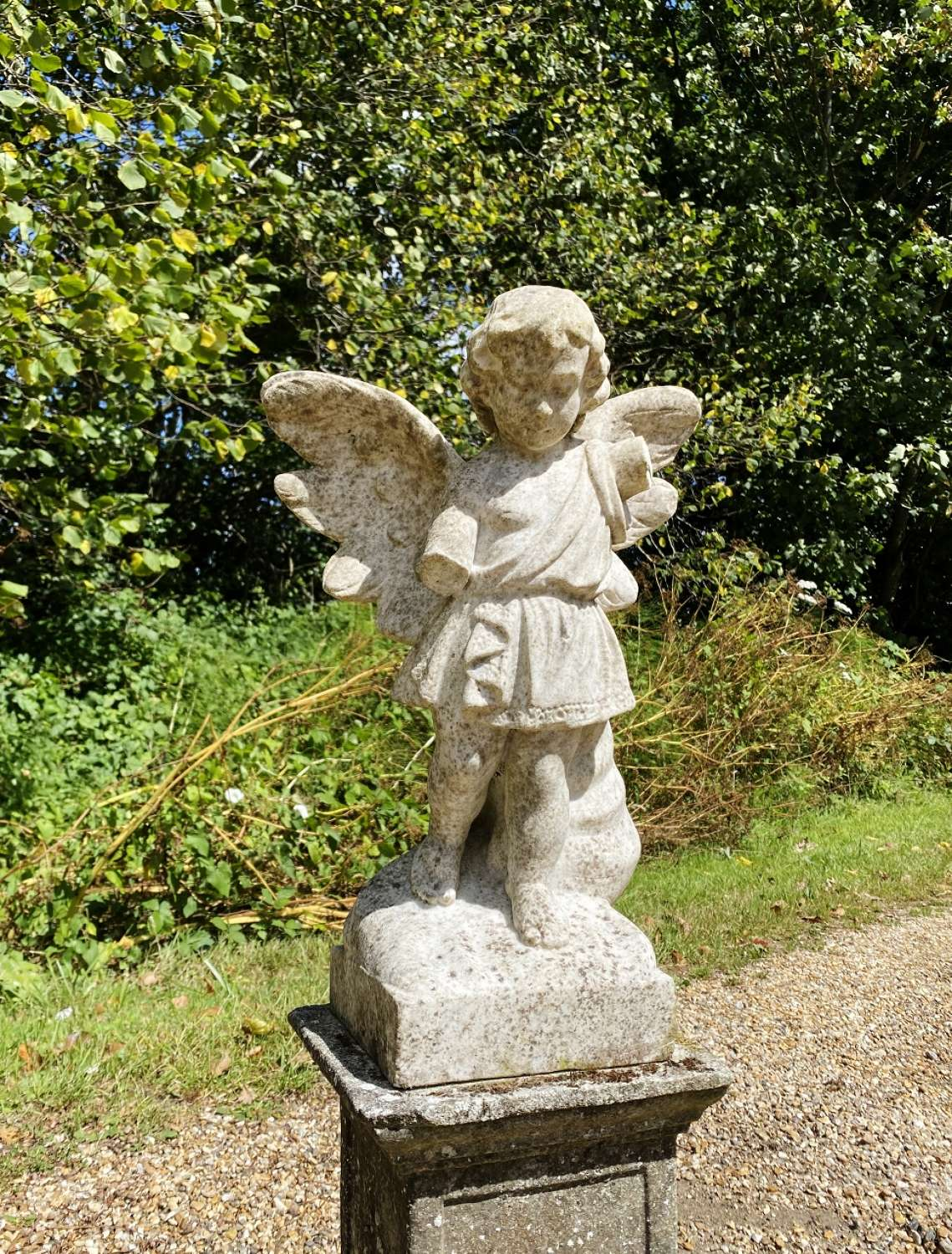 Small Marble Angel