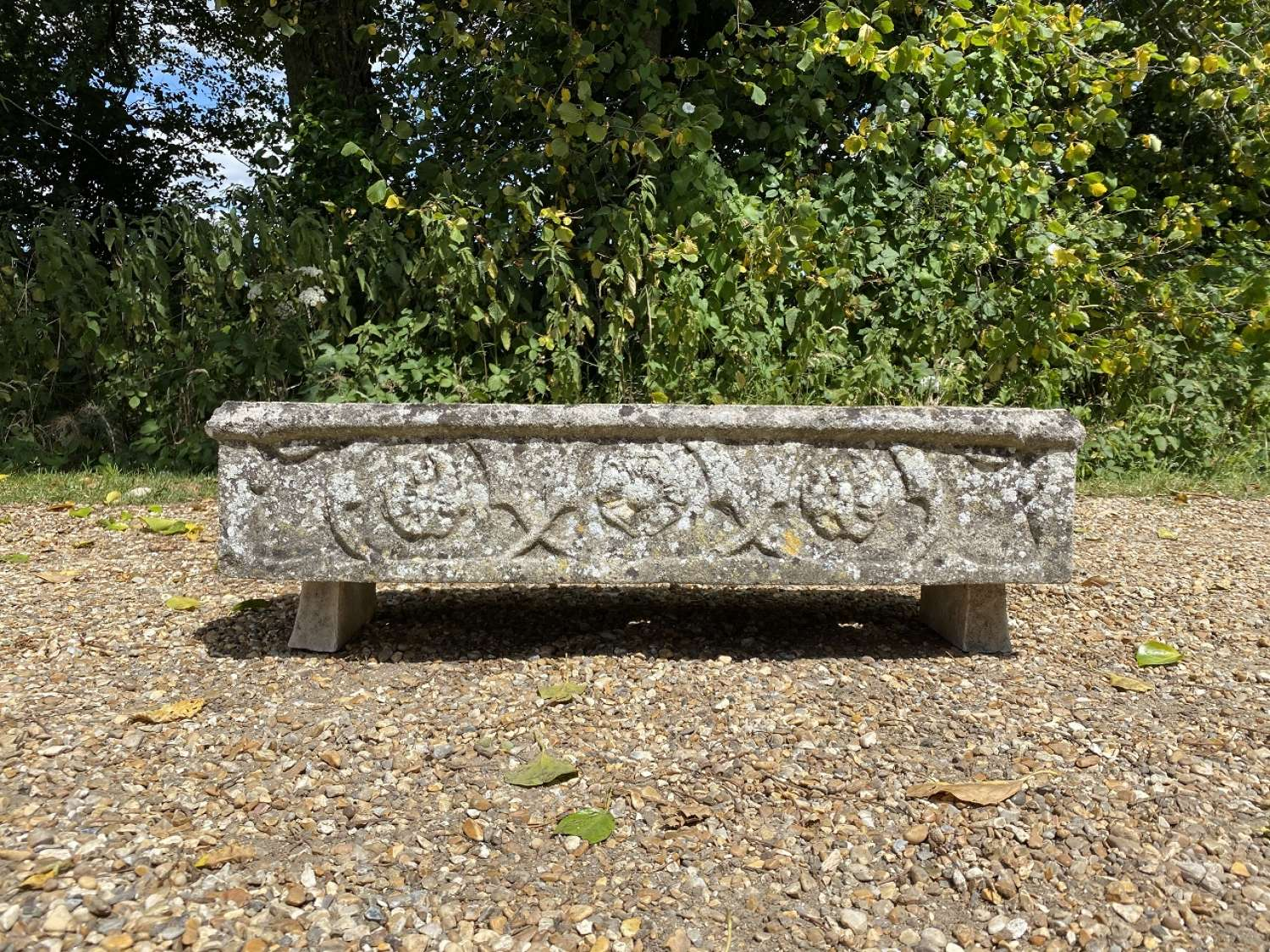 Patinated Garden Trough