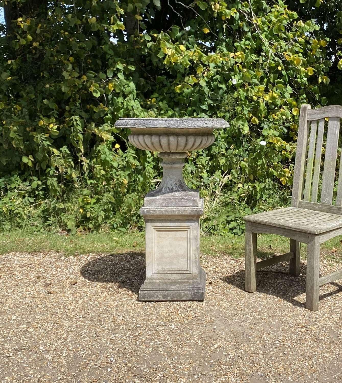 Classic Urn and Pedestal