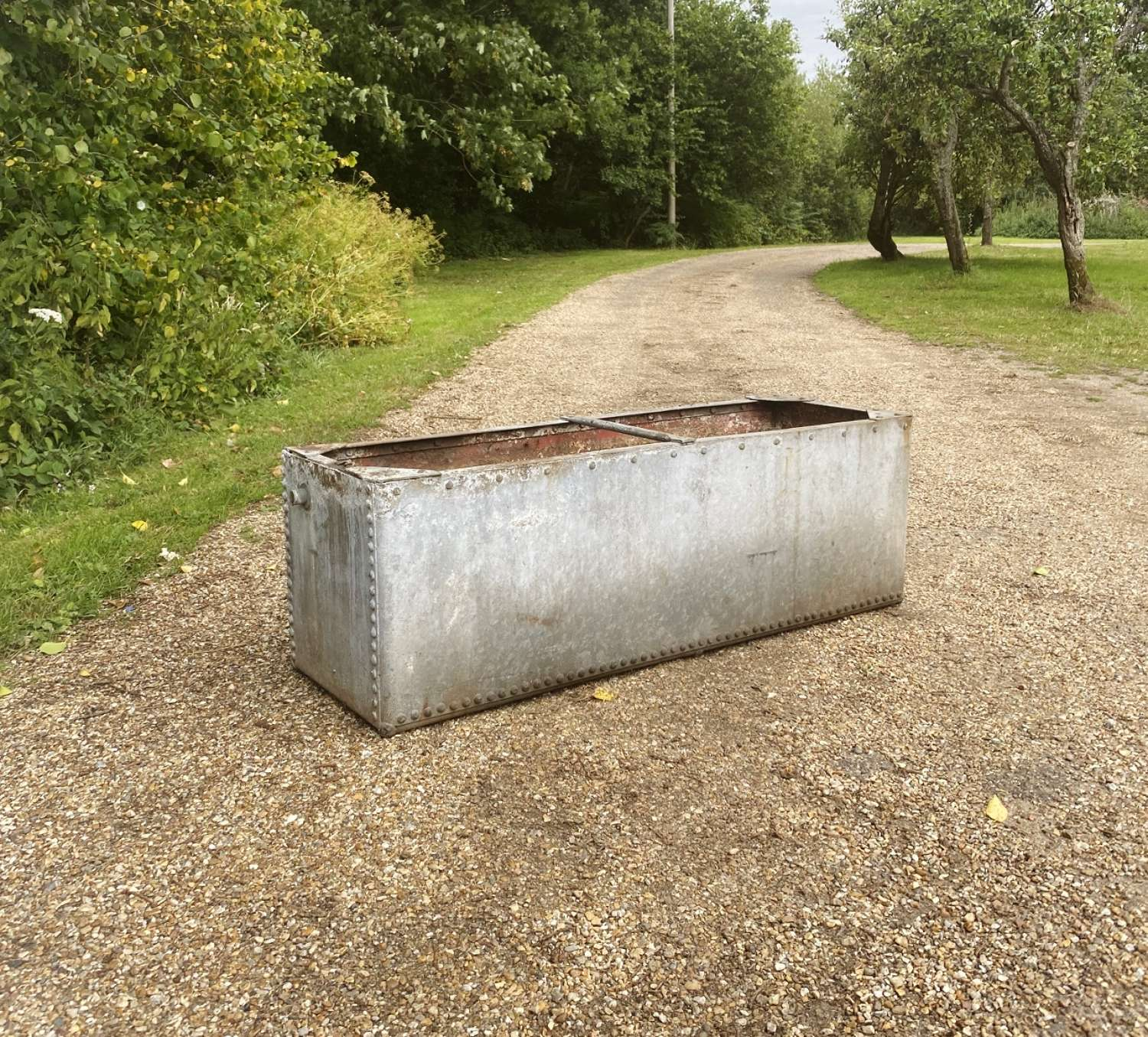 Studded Galvanised Trough
