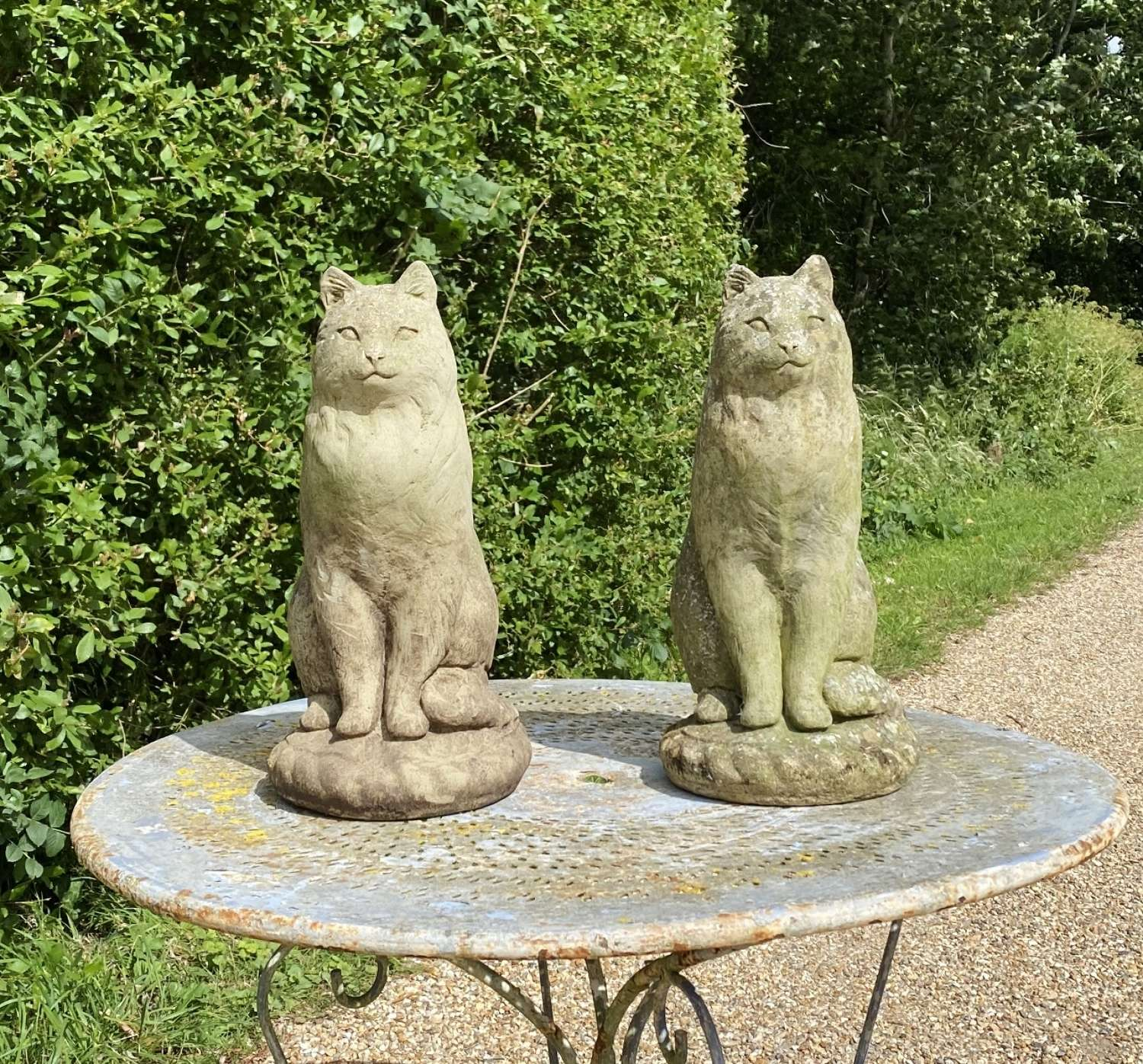 Large Stone Cats