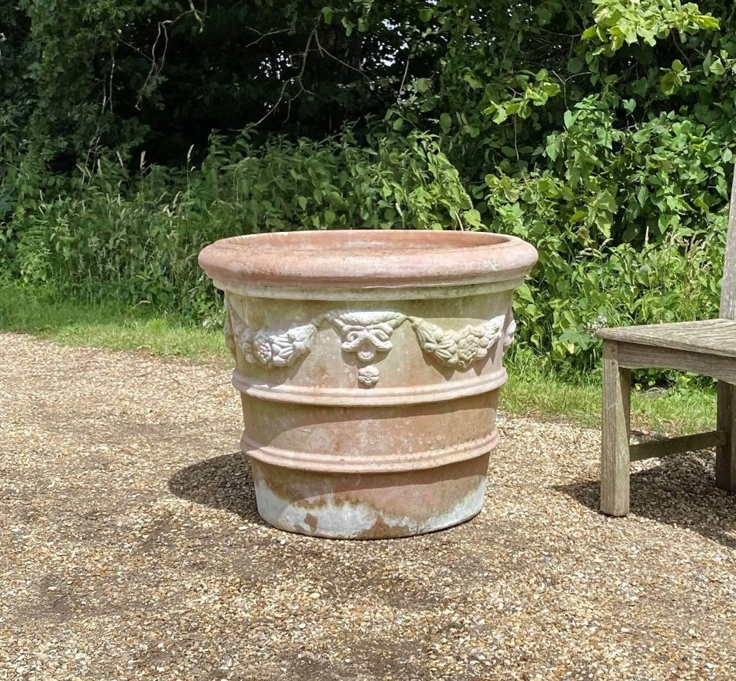 Large Italian Garland Planter