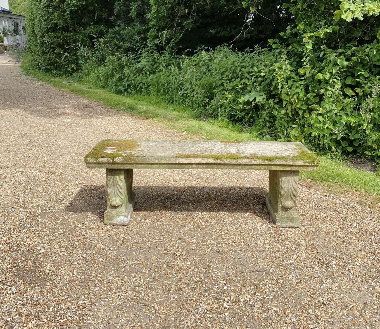 Mossy Stone Seat