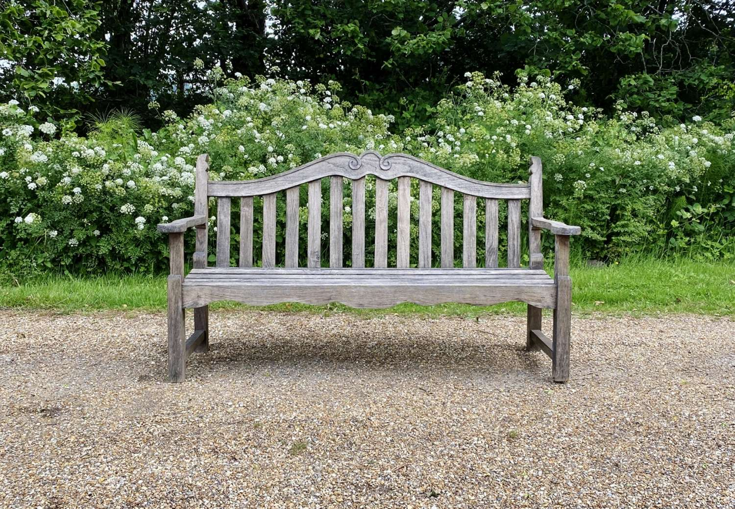 Scrolled Bench