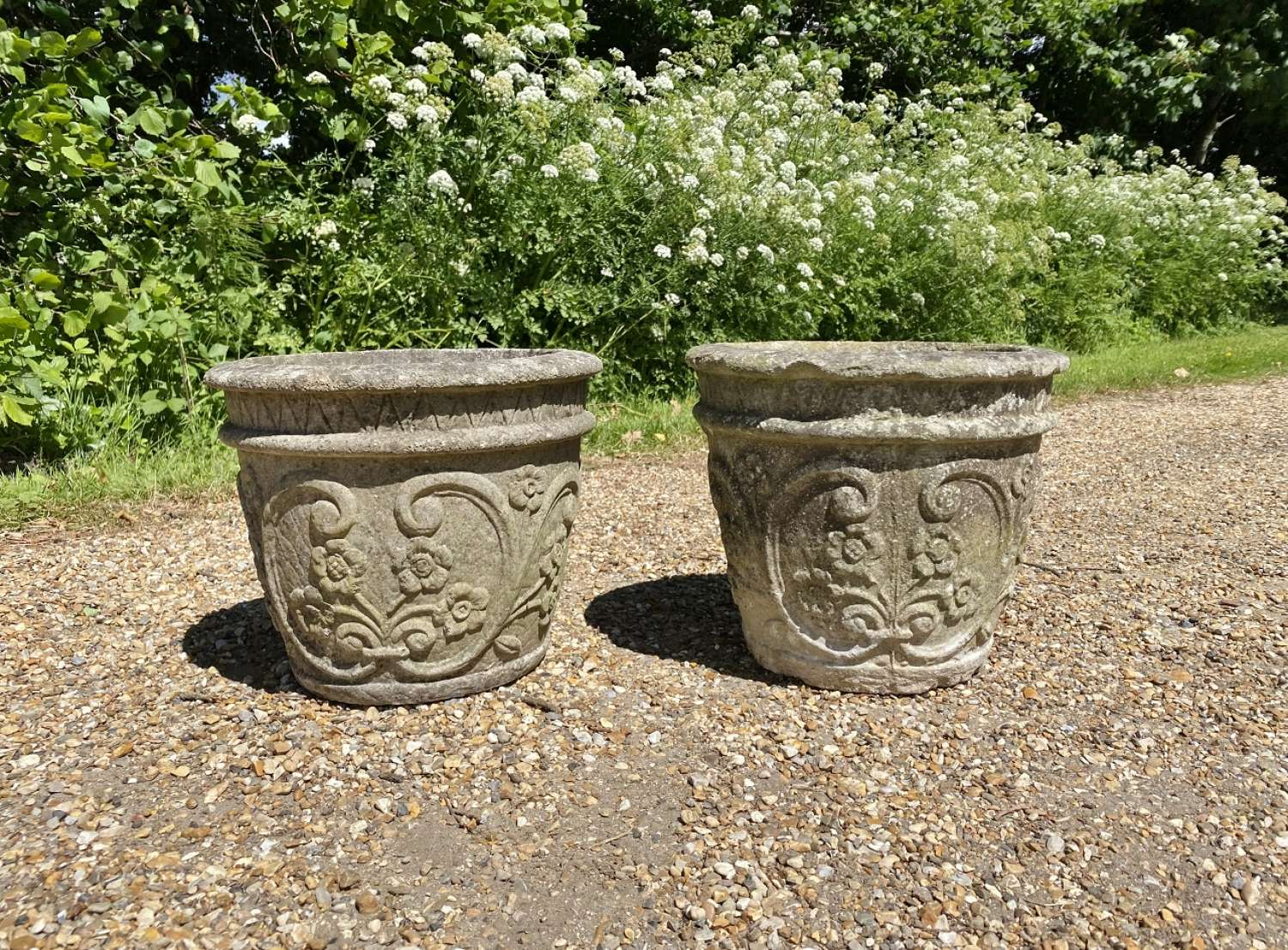 Pair of Small Flower Planters