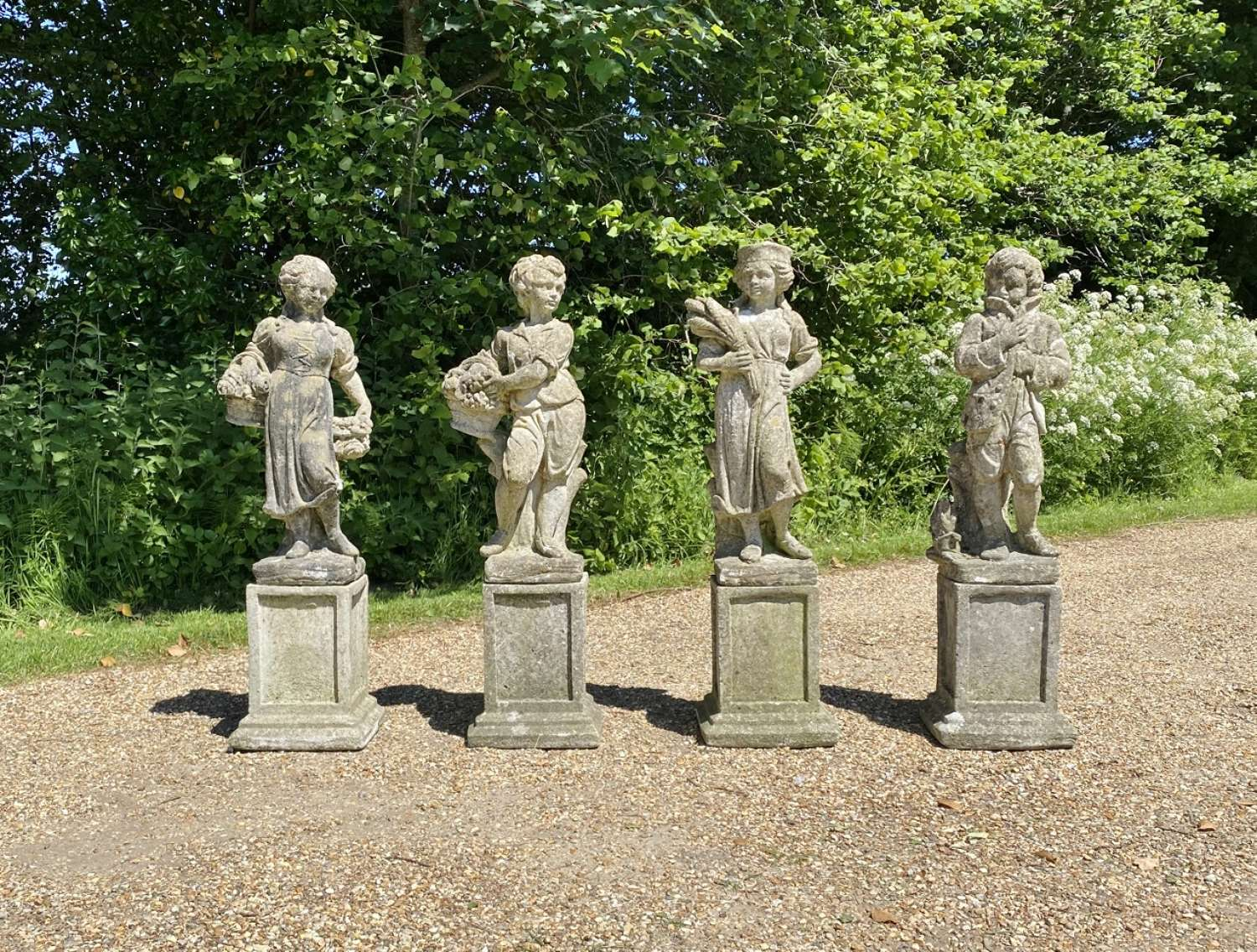 Set of Four Seasons Figures