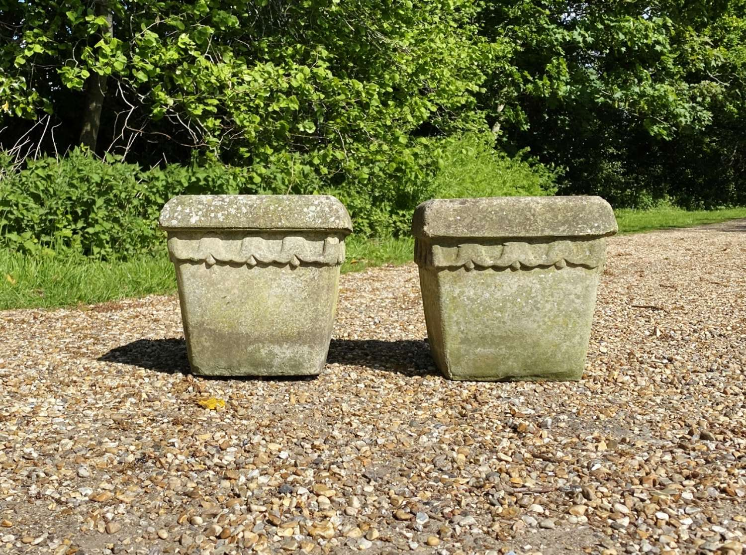 Pair of Bluebell Planters