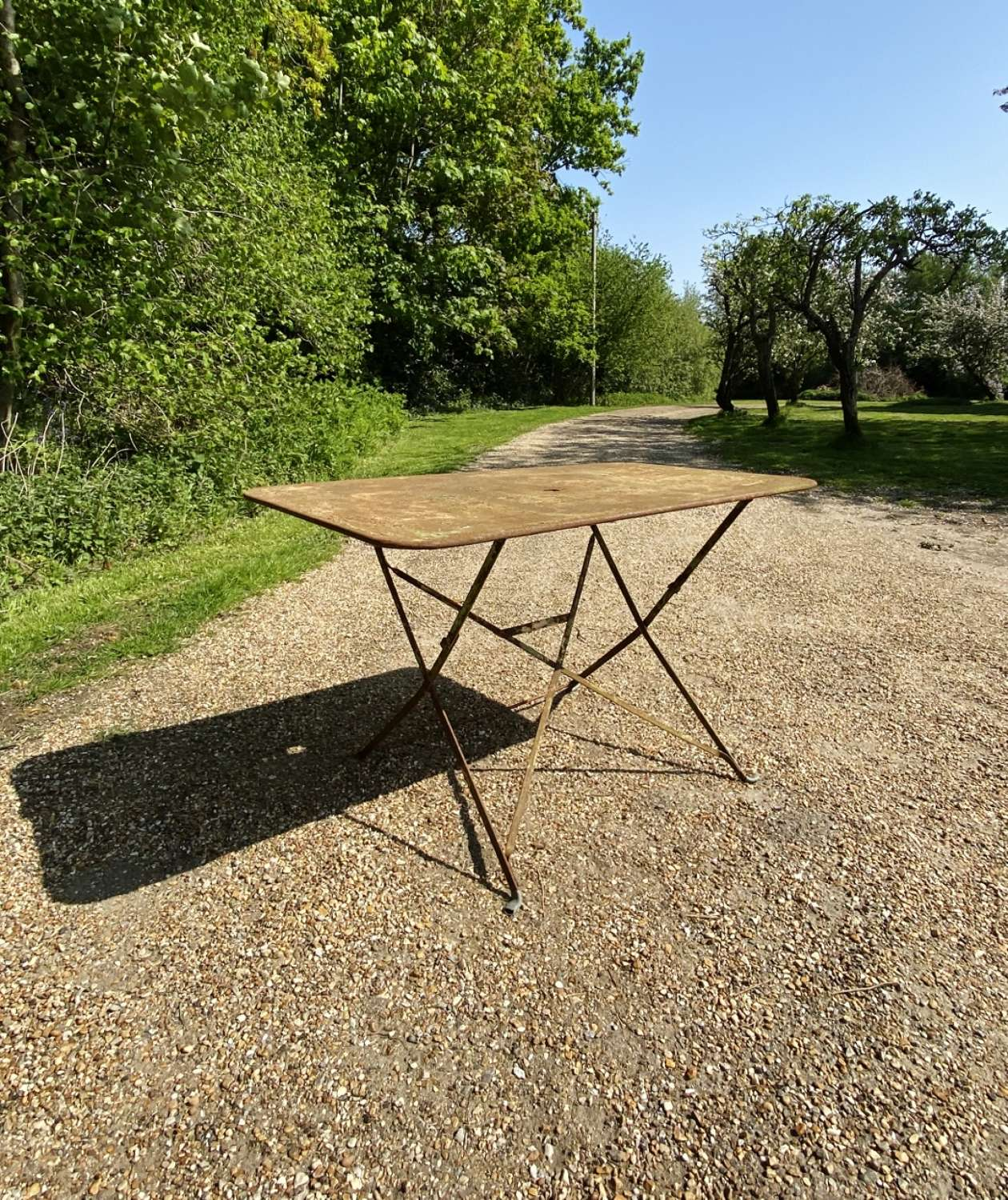 French Folding Table