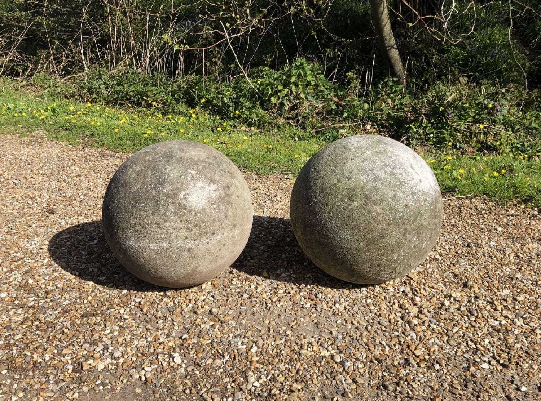 Pair of Stone Balls