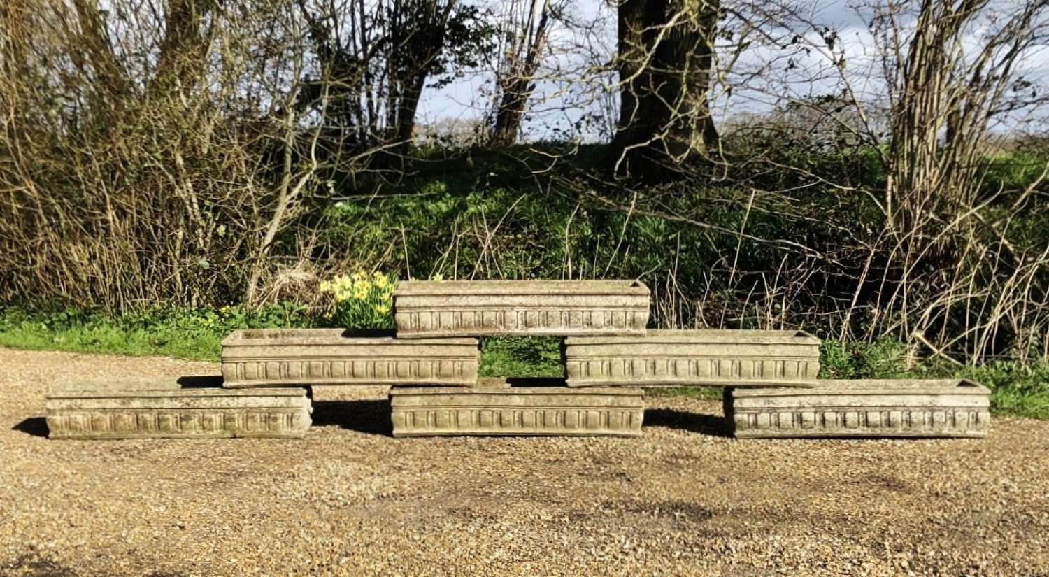 Weathered Stone Troughs