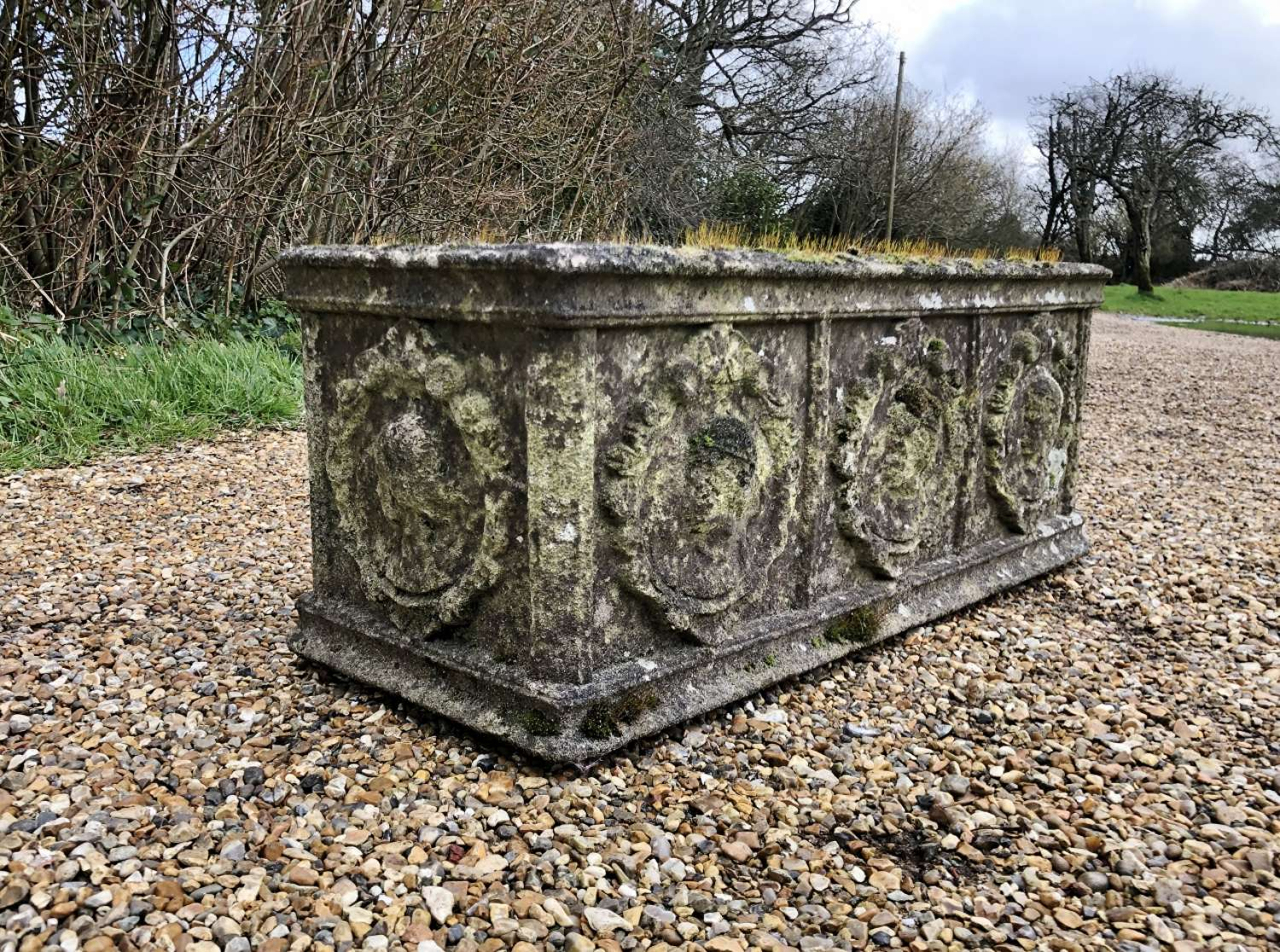 Patinated Trough