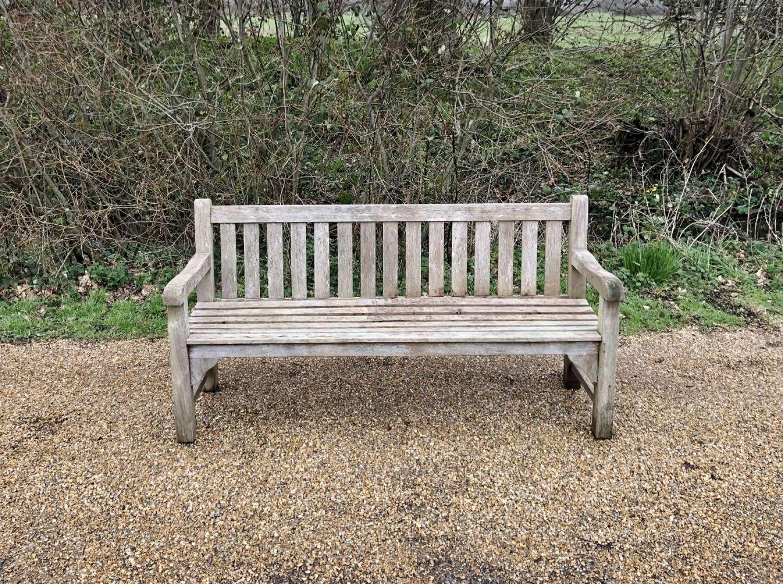 Traditional Teak Bench