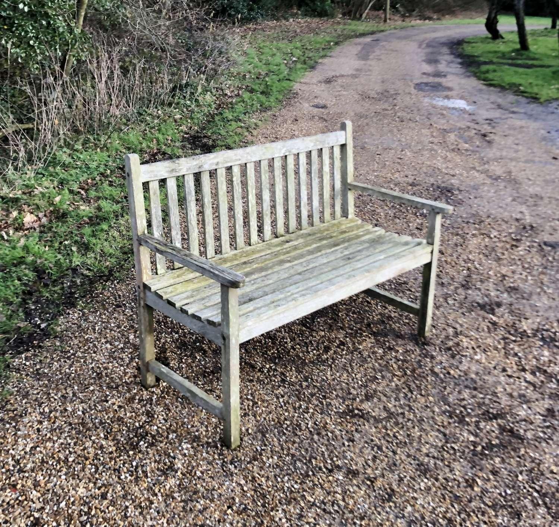 Traditional Small Garden Bench