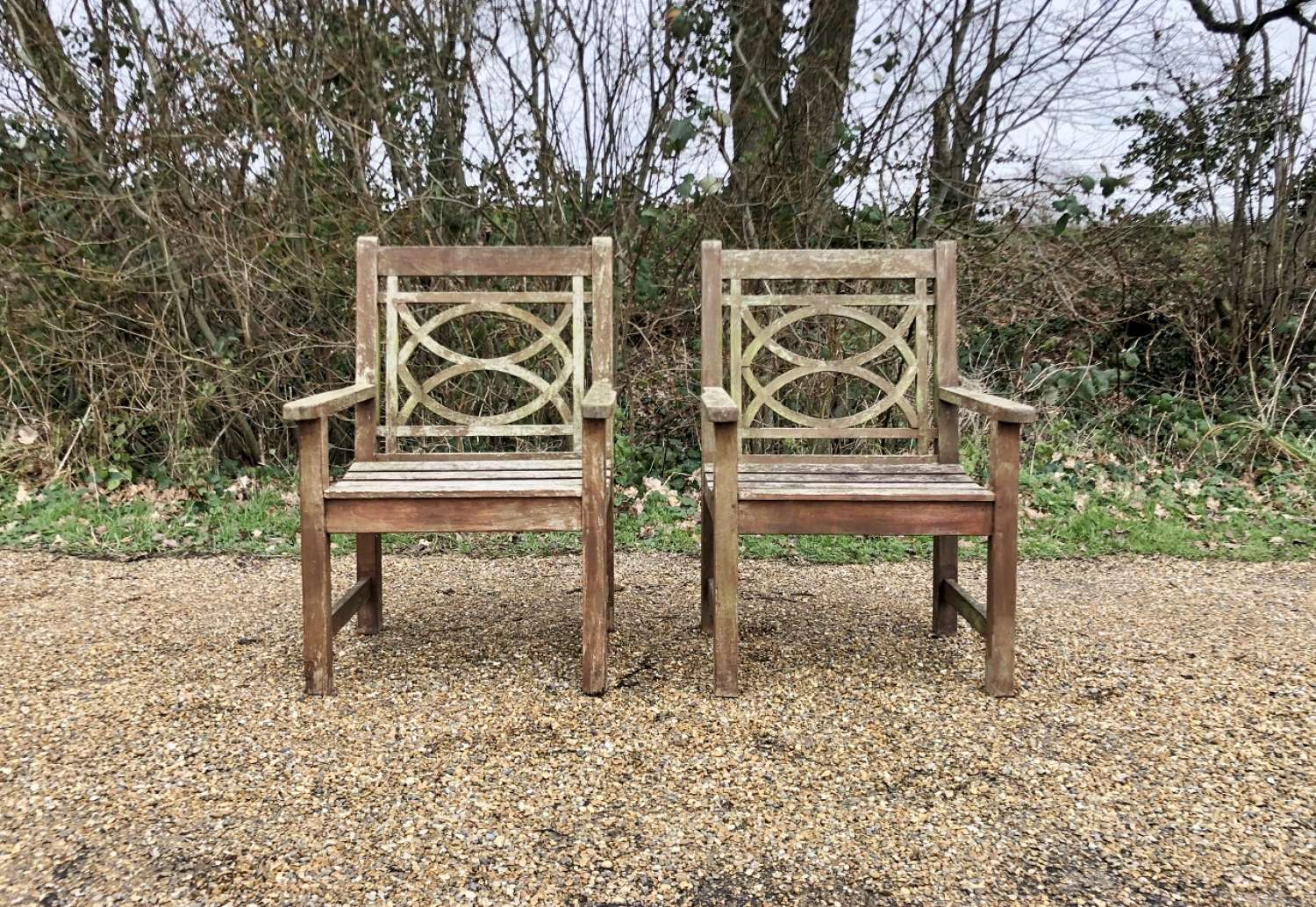 Pair of Westminster Chairs