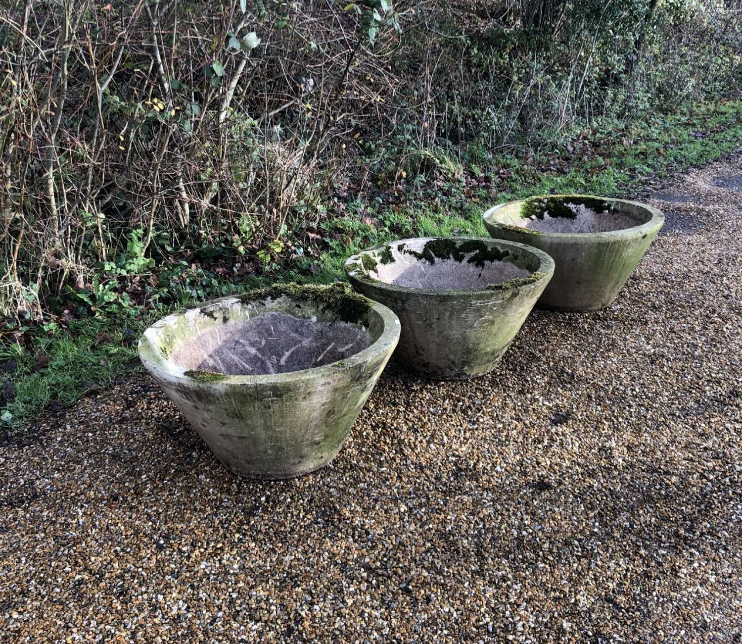 Large Conical Planters