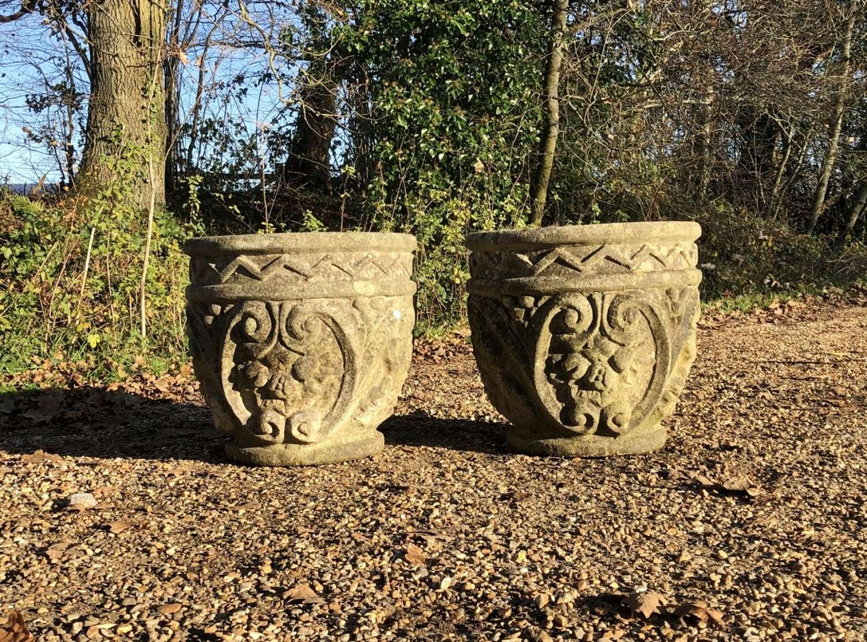 Pair of Decorative Planters
