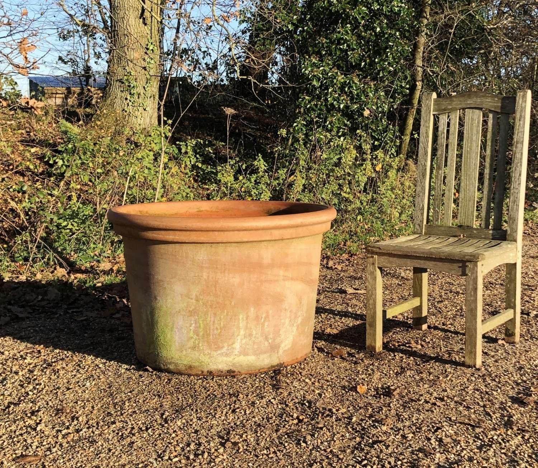 Large Round Terracotta Planter