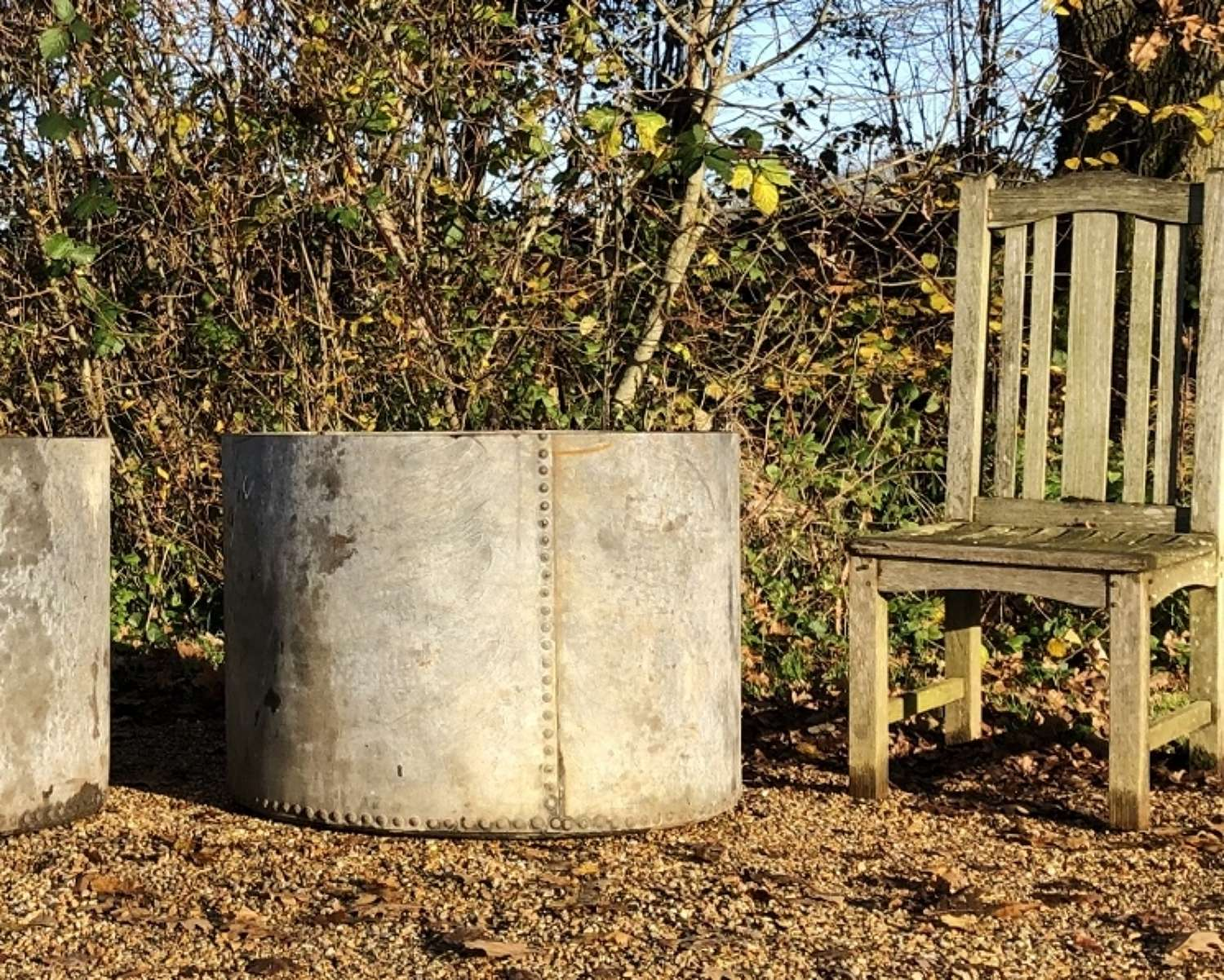 Large Studded Planter or Water Butt