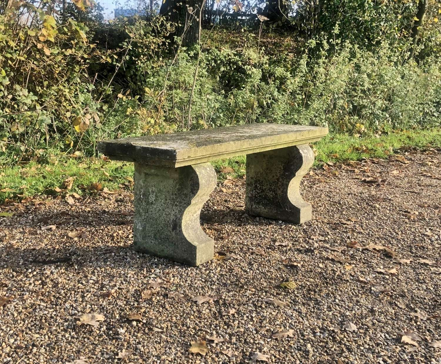Simple Stone Bench