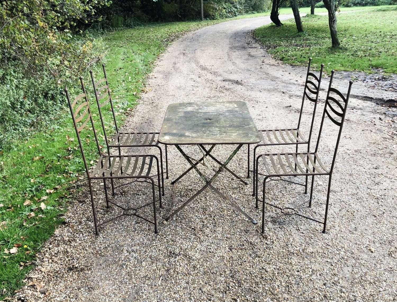 Iron Seating Set
