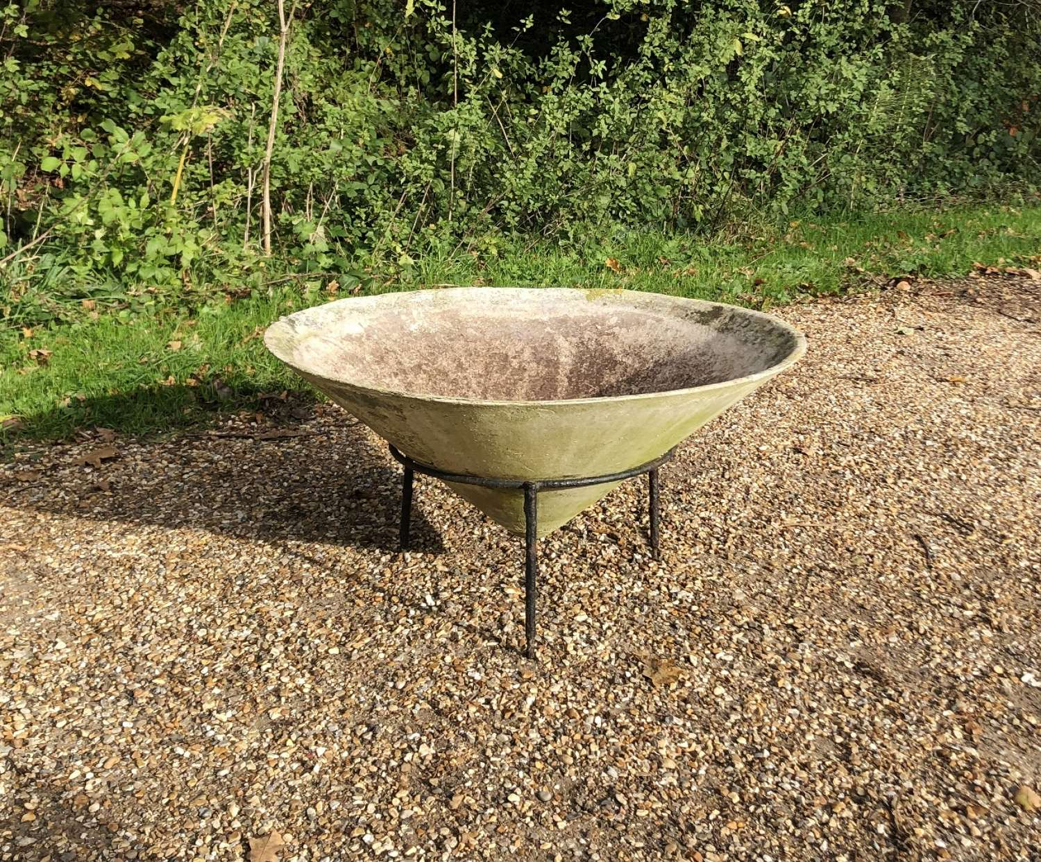 Willy Guhl Planter with Stand