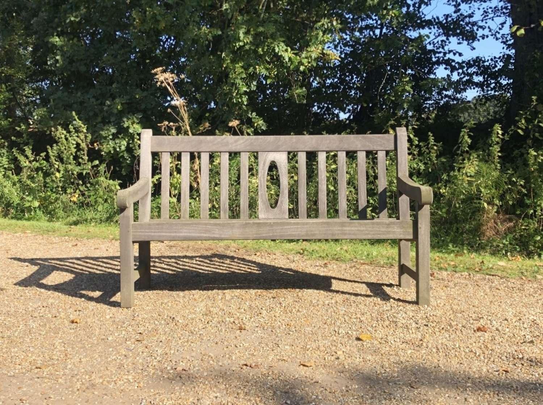Oval-Back Bench