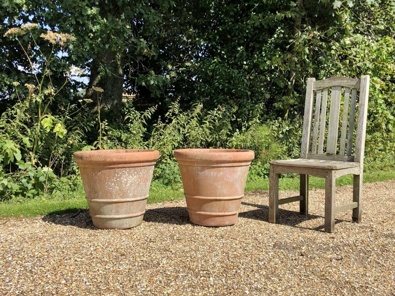 Pair of Italian Terracotta Planters