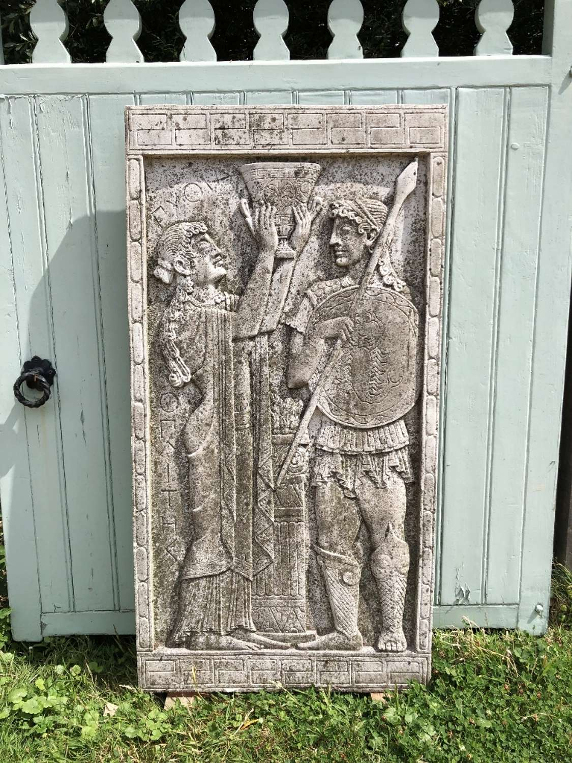 Large Wall Plaque