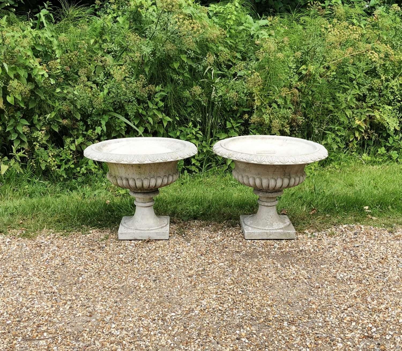 Pair of Classic Urns
