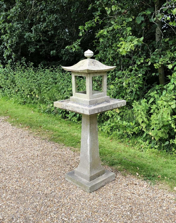 Large Stone Bird Table