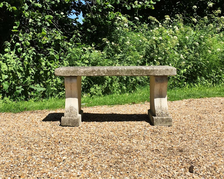 Classic Stone Bench