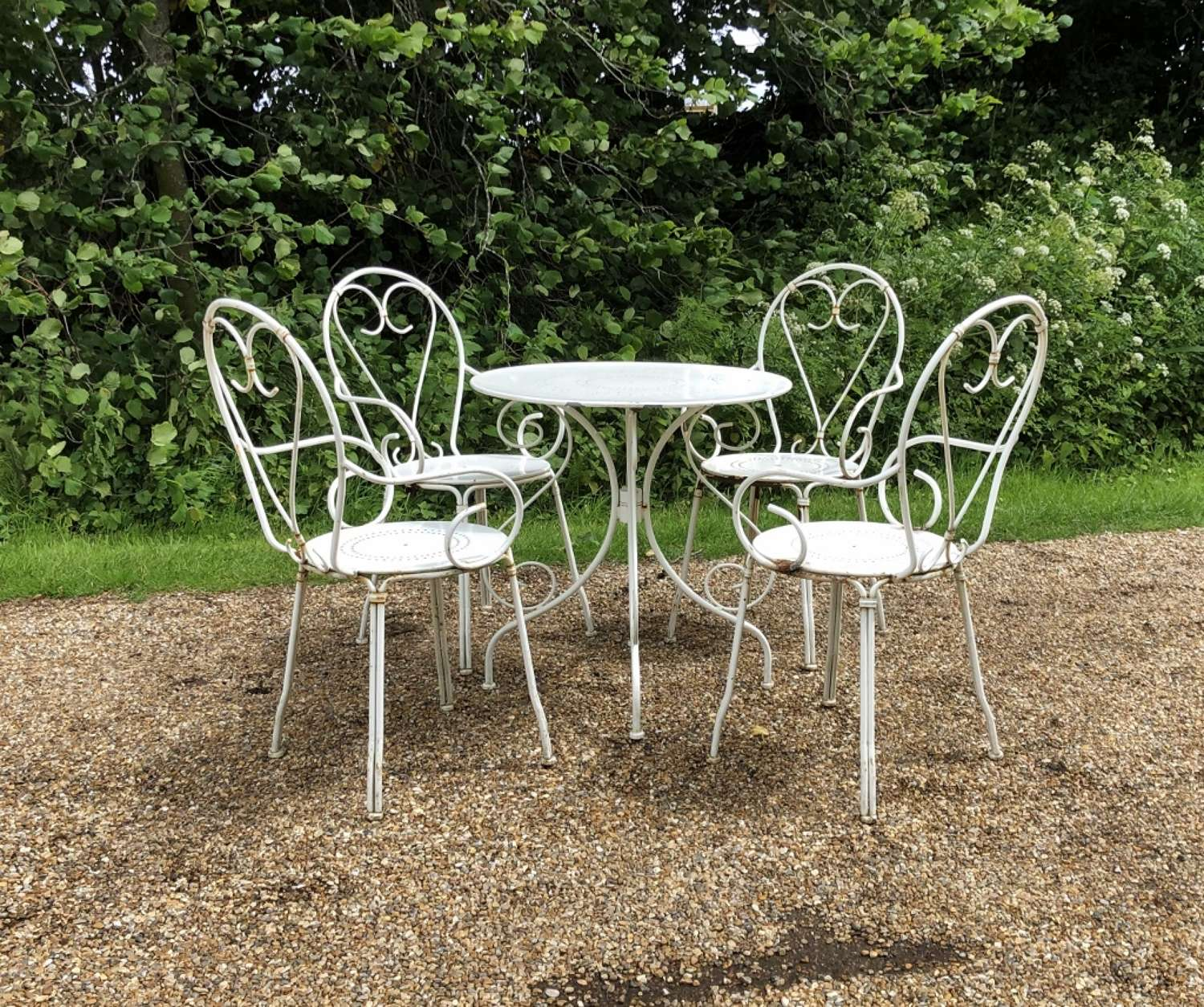 French Style Seating Set